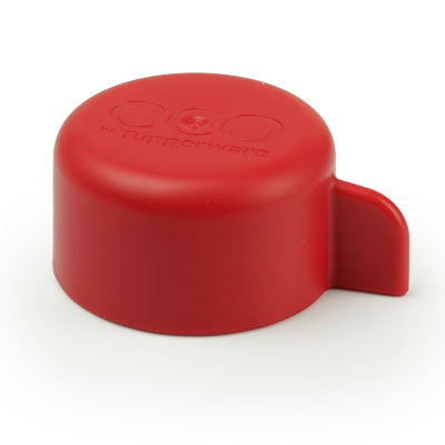 Tupperware Eco Bottle Replacement Lid Cap (310ml / 500ml) - Red - Screw Type