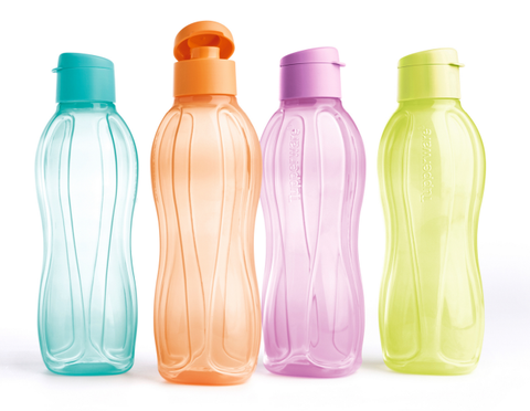 4-colour Eco Bottle (1L) Bundle