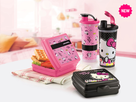Tupperware Hello Kitty Lunch Set