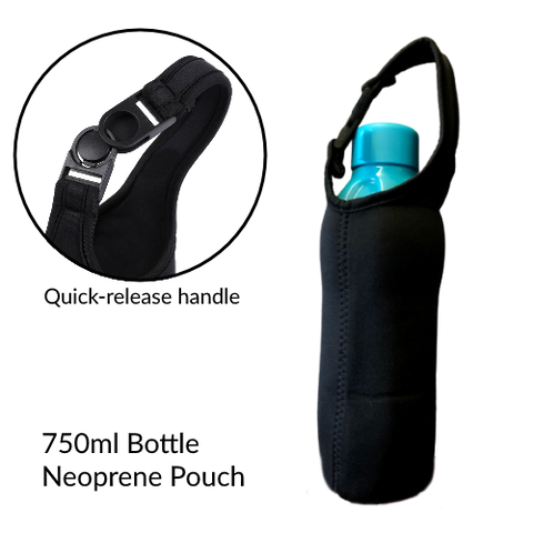 Neoprene Bottle Pouch for Tupperware 750ml Bottle | Tupperware SIngapore