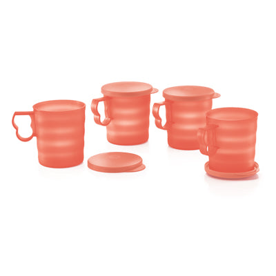 Tupperware Singapore | Open House Mugs & Seal (4) 350ml