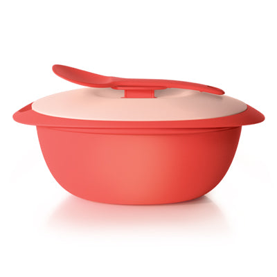 Tupperware Singapore | Coral Blooms Rice Server 3.0L & Serving Spoon