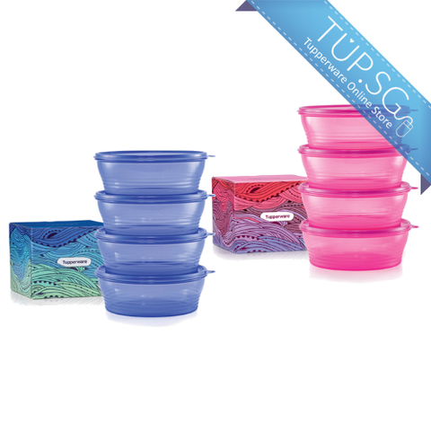 Tupperware Big Wonders Set (Fuchsia Kiss / Lupine) - 2019
