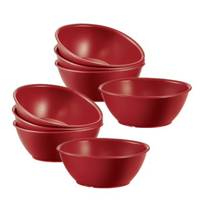 11138078 Tupperware Royal Red Bowls (4) 700ml