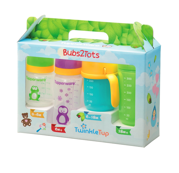 Bubs2tots Gift Set Tupperware Singapore