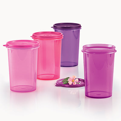 11145001 Tupperware Cherrio Quad (4) 1L