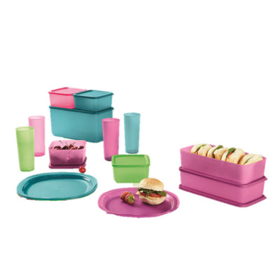 Tupperware Coastal Picnic Set