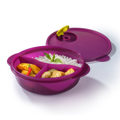 Tupperware Singapore | CrystalWave Divided Dish (1) 900ml - 2020 Edition