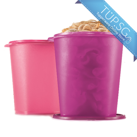 Deco Canister (1) 11L (Pink Punch / Radish)