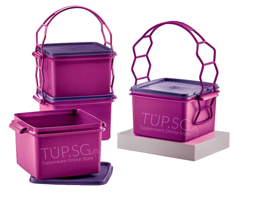 Tupperware Singapore | Double Deep with Cariolier (1) 1.7L