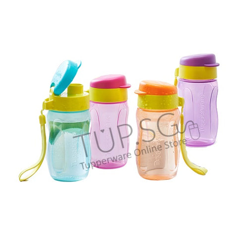 Tupperware New 310ml ECo Bottle - Flip Top
