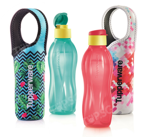 Eco Bottle Flip Top (2) 750ml