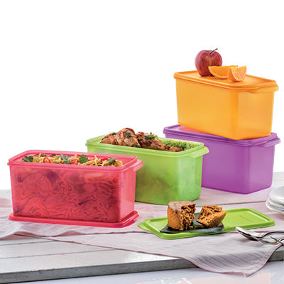 Tupperware Fresh & Cool Set (4) 3.1L / Cool Stacker