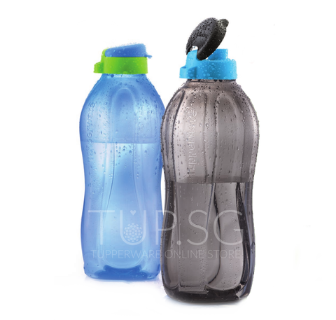 Tupperware - The Giant Eco Bottles (2) - 2L