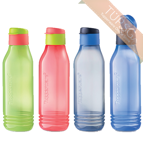 Tupperware Singapore | Triangle Quencher Set (4) 750ml | Groovy Eco Bottle (4) 750ml