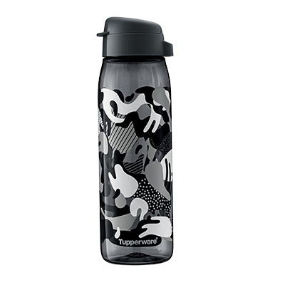 H2GO Bottle W/Print & Strap 750ml - Cameo Actif