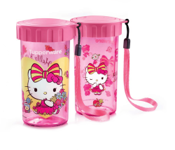 Tupperware Hello Kitty Flask Set (Play Time and Spring Time)