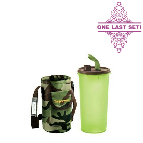 Tupperware Singapore | High Handolier with Army Pouch - 1.5L