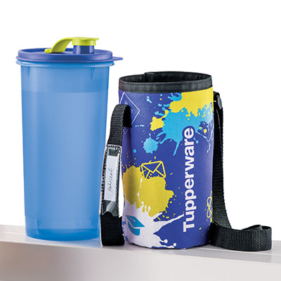 Tupperware High Handolier (1) 1.5L with Pouch - Blue