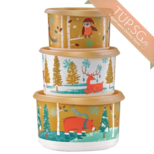 Tupperware Singapore | Holiday Canister Gift Set