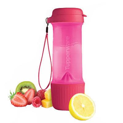 Tupperware Infuse 2 go (700ml) - Pink