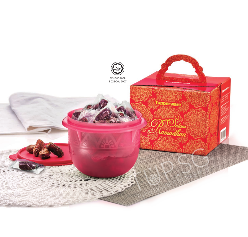 Tupperware Kurma Gift Set 2018 (Halal حلال)