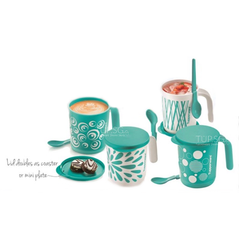 Tupperware Singapore | Liberty & Mistique Mug Set (4) 350ml