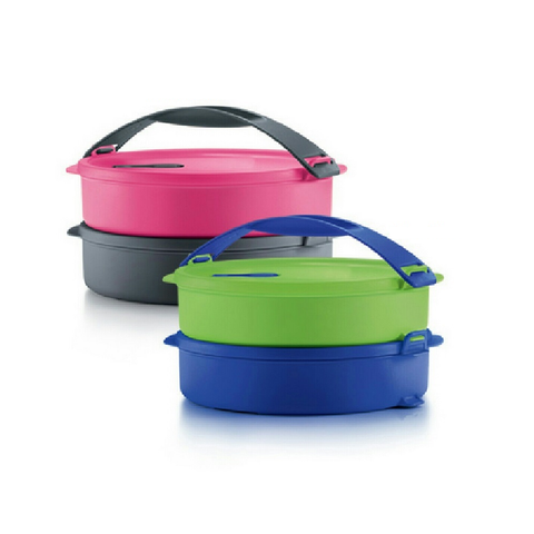 Tupperware Singapore June 2020 | Microwaveable Round Click To Go (800ml each)