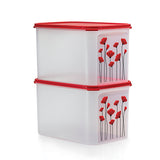 1113 6501 Red Poppy Modular Mates Rectangular III (2) 6.5L