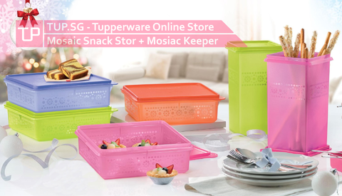 Mosaic Snack Stor + Free Mosaic Keeper