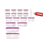 Tupperware FreezerMate Set (16 pieces)