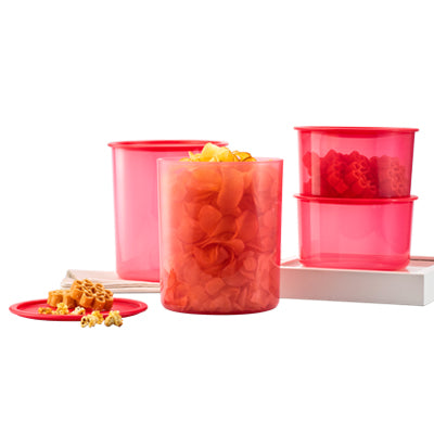 Tupperware One Touch Large Set
