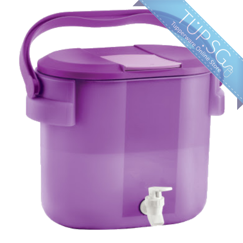 Tupperware Singapore | Outdoor Cooler Water Dispenser - 8.7L - Purple
