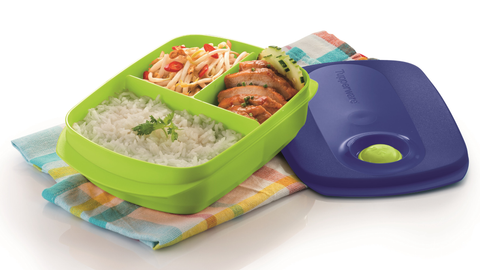 Crystalwave Reheatable Divided Lunch Box 1.0L