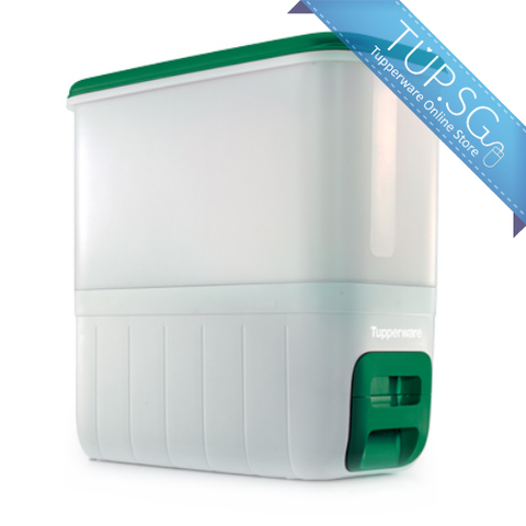 RiceSmart Rice Dispenser (10kg) - Emerald Green