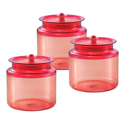 11138145 Tupperware Royal Red Counterparts (3) 900ml
