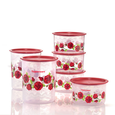 Royal Red Rose One Touch Set