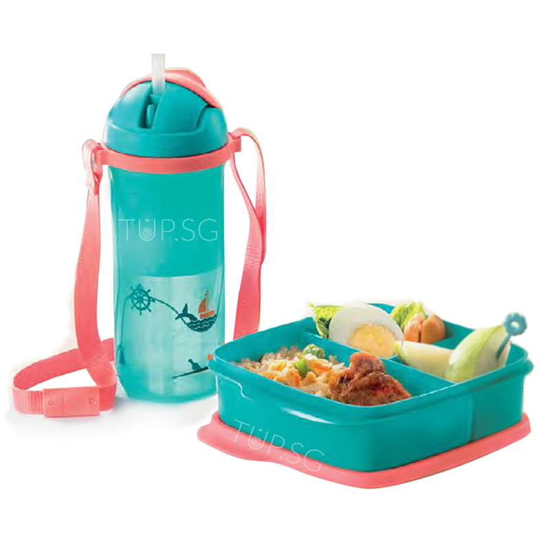 Tupperware Ship Ahoy! Kids Lunch Set