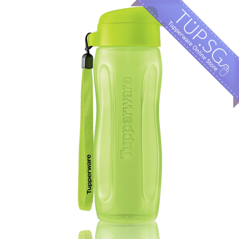 Tupperware Singapore Slim Eco Bottle 500ml - Green