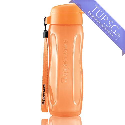 Tupperware Singapore | Slim Eco Bottle 500ml - Orange