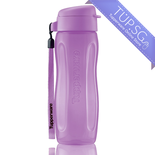 Tupperware Singapore Slim Eco Bottle 500ml - Purple