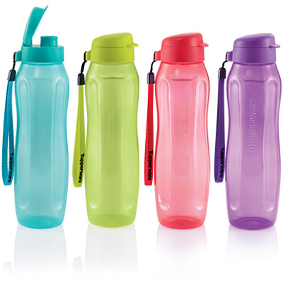Tupperware Slim Eco Bottle (4) 1.0L