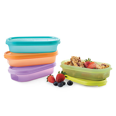 Tupperware Singapore - Slim Oval Keeper (4) 300ml