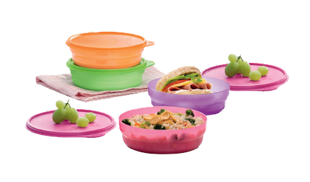 Tupperware Snack EZ Bowl (4) 500ml