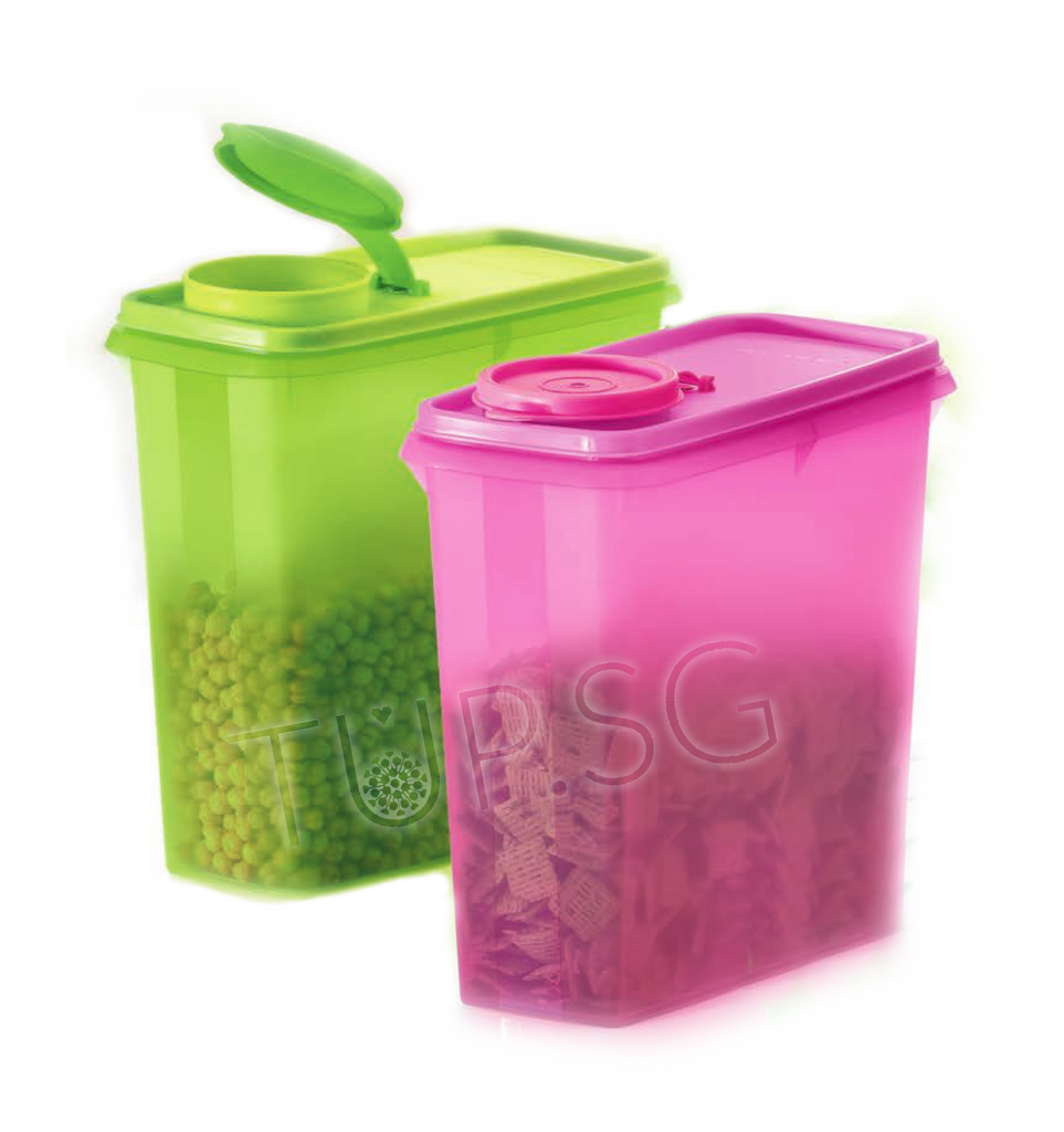Tupperware Cereal / Snack EZ Storer (2) 2.9L
