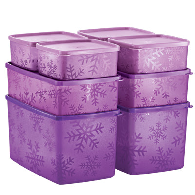Tupperware Snowflake Set-of-8
