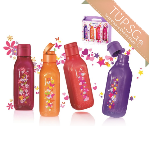 Tupperware Singapore | Sparkle Square Eco Bottle (4) 500ml
