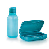 Compact Lunch Set - Blue
