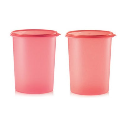 Tall Canister Set (2) 10L - Emberglow & Salmon
