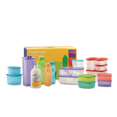 Tupperware Treasure Box for New Member Sign Up